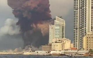 Ливан пойтахти Байрутда кучли портлаш содир бўлди