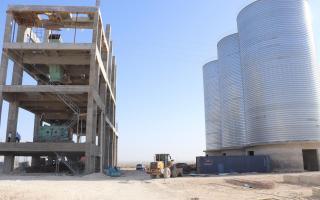 Қоровулбозорда қиймати 242 млрд сўм бўлган цемент заводи қурилмоқда (фото)