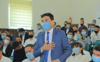 Ўзбекистон тумани Ёшлар ишлари агентлигига янги раҳбар тайинланди