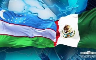 Шавкат Мирзиёев Мексика президентини Мустақиллик куни билан табриклади