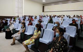 Қоракўлда 56 нафар хотин-қиз иш билан таъминланди (фото)