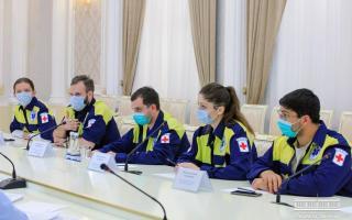 Aндижонга COVID-19'га қарши курашда кўмаклашиш учун 35 нафар россиялик шифокор келди