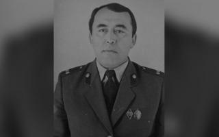 Наманганда истеъфодаги подполковник Қодирхон Мелихонов вафот этди