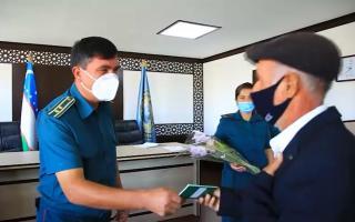 Бухоро туманида 12 нафар шахсга фуқаролик паспорти топширилди (видео)