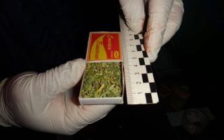 Андижонда 22,5 грамм марихуана сотаётган одам қўлга олинди