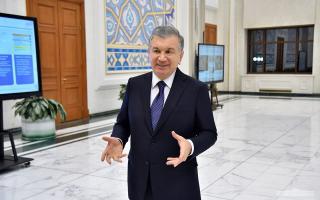Президент Тошкентда йўл-транспорт инфратузилмасини ривожлантиришга оид концепция тақдимоти билан танишди