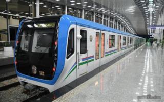 Видео: Сергелидаги ерусти метросининг синов поезди