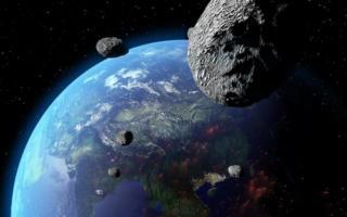 Ерга бир ҳафта ичида 5 та астероид яқинлашади