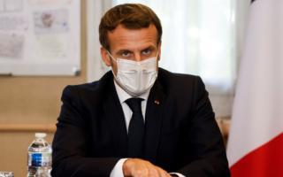 Франция президенти Эммануэль Макрон коронавирусга чалинди