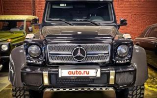 Москвада 6 ғилдиракли «Гелик» салкам 1 миллион долларга баҳоланди
