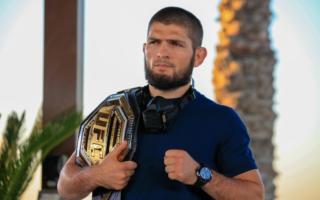 UFC чемпиони Ҳабиб Нурмагомедов Тошкентга келди