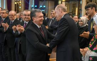 Шавкат Мирзиёев Туркия президентини Янги йил билан табриклади