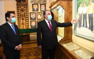 Тожикистон президенти ўзининг номидаги музейни очди — фото