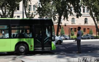 Тошкентда 11 январдан 8- ва 132-йўналишдаги автобуслар ҳаракати тўхтатилади