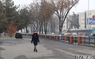 Ўзбекистонда 4 январь куни кутилаётган об-ҳаво маълумоти эълон қилинди