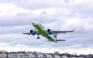 Ўзбекистонга янги Airbus A320 Neo лайнери олиб келинди