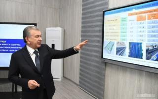 Шавкат Мирзиёев Бухородаги 65 миллион долларлик корхонани бориб кўрди