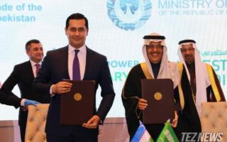 Ўзбекистон Саудия Арабистони билан 2,5 млрд долларлик энергетика лойиҳаларини имзолади