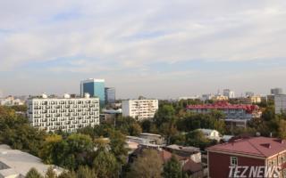Бугундан Ўзбекистонга қўшни Туркманистондан илиқ ҳаво массалари кириб келмоқда